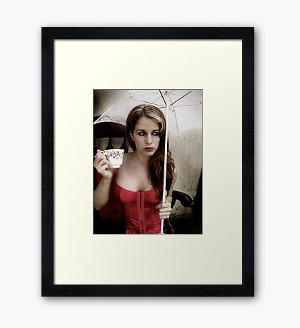 Tea Cup Fancy  Framed Print