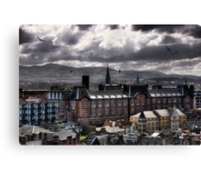 Edinburgh Skies Canvas Print