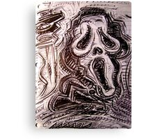 Ghostface Canvas Print