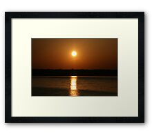 Sun Above Framed Print