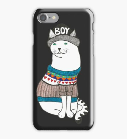 Boycat iPhone Case/Skin