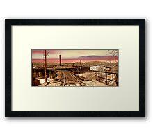 West Virginia Coal Mine Framed Print