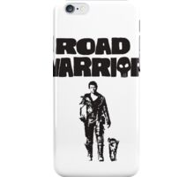 Mad Max Road Warrior iPhone Case/Skin