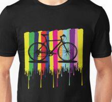 Rainbow bicycle Unisex T-Shirt