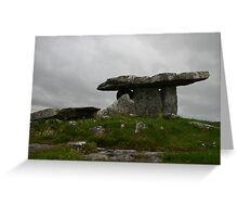 Poulnabrone Dolmen #2 Greeting Card