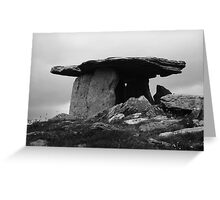 Poulnabrone Dolmen #1 Greeting Card