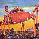 Walking Machine - Soviet 1960's by Gareth Stamp