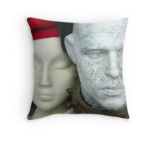 Red Beret Throw Pillow