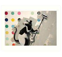 Banksy @ Bristol Museum Art Print