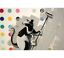 Banksy @ Bristol Museum Photographic Print