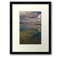 A Walk Along The Beach Framed Print