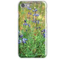 Dwarf Lupines iPhone Case/Skin