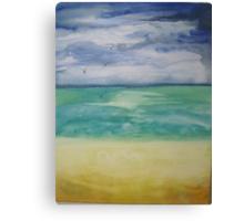 One Rain Drop Canvas Print