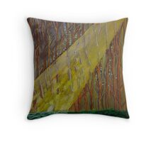 Deep in the wood Throw Pillow