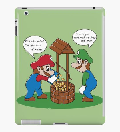 A LOT of wishes! iPad Case/Skin