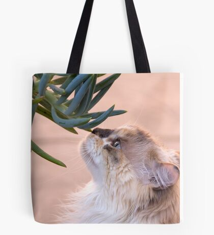 Stop and smell.. the succulent? Tote Bag