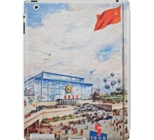 Brussels Expo 1958 iPad Case/Skin