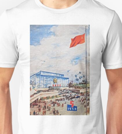 Brussels Expo 1958 Unisex T-Shirt