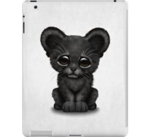 Cute Baby Black Panther Cub  iPad Case/Skin