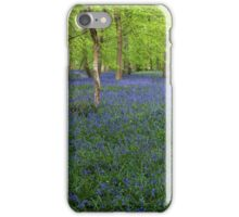 Bluebells Coxsetter's wood  Chiltern hills iPhone Case/Skin