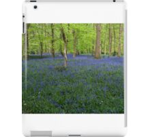 Bluebells Coxsetter's wood  Chiltern hills iPad Case/Skin