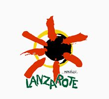 Lanzarote - Large Logo Womens Fitted T-Shirt