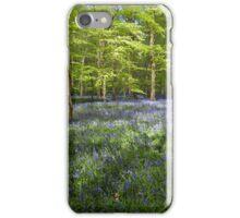 Bluebells Coxsetter's wood   iPhone Case/Skin