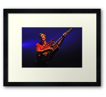One String Harp Framed Print