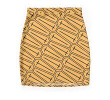 Cross Section, yellow Mini Skirt