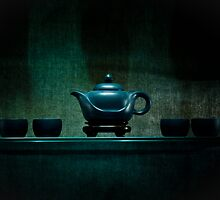 Zen Teapot and cups by Cvail73