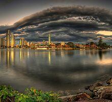 Gold Coast Panorama by Chris Lofqvist