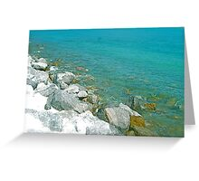 Beauty and The Beach Greeting Card