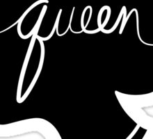 Queen Silhouette Sticker