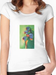 Lorikeets Women's Fitted Scoop T-Shirt
