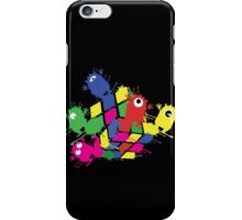Cube monsters iPhone Case/Skin