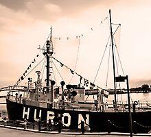 Huron lightship by cherylc1