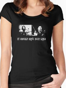 It should have been Lars Women's Fitted Scoop T-Shirt