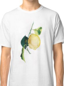 Branch of  lemons with leaves Classic T-Shirt