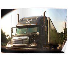 Truckin' Poster