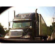 Truckin' Photographic Print