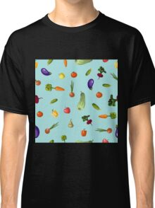 with growing vegetables - beetroot, potato, carrot, garlic and onion Classic T-Shirt