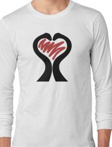 Dinosaur Love Long Sleeve T-Shirt