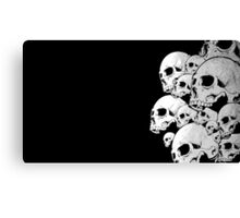 Skulls incoming - Right Canvas Print