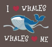 love whales Kids Clothes