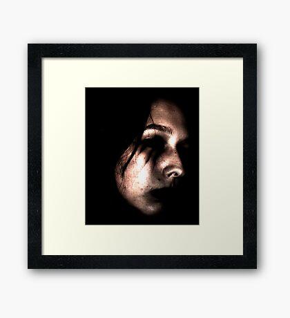 Empty Framed Print