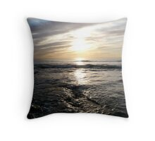 """""""Just A Hint Of Blue"""" Throw Pillow"""