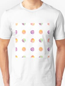 Abstract vector watercolor textured hand painted background Unisex T-Shirt