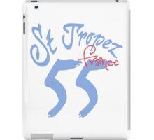 St. Tropez 55 France iPad Case/Skin