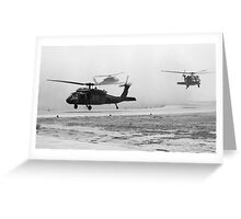 DustStormLanding Greeting Card