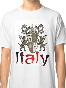 Italy Shield Classic T-Shirt